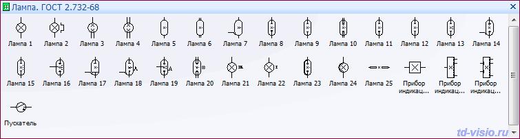Electro for Visio - УГО